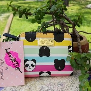 Authentic Betsey Johnson  Panda Bear Wallet